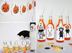 Pack fiesta de Halloween imprimibles por tuesdaymourning en Etsy