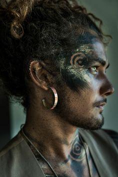 Photographer/Concept/Stylist: Donatella Parisini Jewelry: Lisa Engeman – Occulture Hair/Makeup: Elvis Schmoulianoff Model: Matt Honeychurch