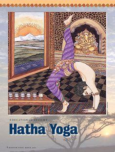 Hatha Yoga definition - what is Hatha Yoga good for? Yoga Works, Yoga 1, Hindu Art, Yoga Benefits, Kingfisher, Gods And Goddesses, Design Art, Wellness, India