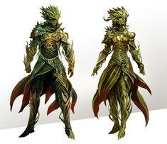 Sylvari Guild Wars 2 Kekai Kotaki