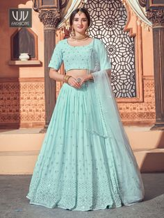 Rs4,100.00 Festival Wear, Festival Outfits, Diwali Outfits, Bridal Lehenga Online, Party Wear Lehenga, Indian Wedding Outfits, Indian Outfits, Saree Shopping, Look Chic