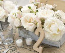 do neutrals in a garden for a heavenly feeling. #weddings