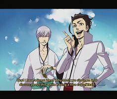 Aizen and Ichimaru Gin x.x