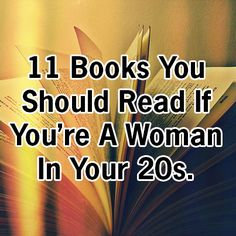 Gone Girl, Gone With The Wind, Garden of Eden, and more. Check out our reading list for 20-something women. (photo by merra m.)   http://tcat.tc/MCJRsc