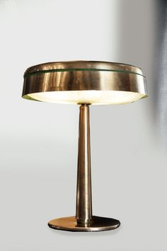 Fontana Arte, Table Lamp, Italian, Circa 1940.