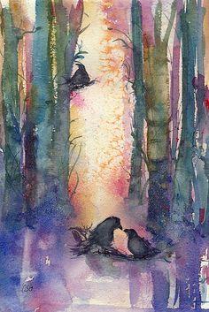 Ravens...Wondrous!! Artist is ______????