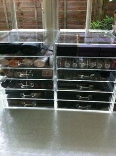 #Clear Cube #Makeup #Storage @gossmakeupartis