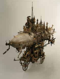 Les sculptures de Kris Kuksi - La boite verte