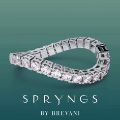Spryngs by Brevani offers the elegance, comfort, and versatility you want in a wedding ring. Diamond Jewelry, Gold Jewelry, Fine Jewelry, Mens Sterling Silver Necklace, Simple House Design, Clover Necklace, Contemporary Jewellery, Eternity Bands, Promise Rings