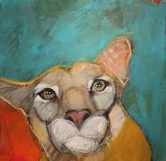 The Philosopher oil on panel - Donated for auction benefitting Girls, Inc, Santa Fe, NM Art And Illustration, Illustrations, Figurative Kunst, Abstract Animals, Wildlife Art, Animal Paintings, Cat Art, Painting Inspiration, Pet Birds