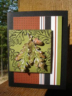 Gently Falling -Stampin' Up!  www.inkandinspirations.com