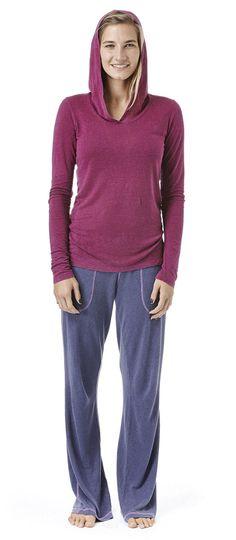 hemp/tencel blend soft hooded cardigan !
