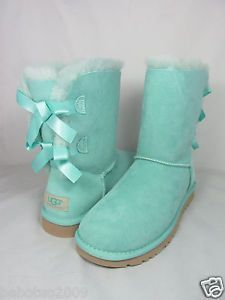 Swarovski Crystal Embellished Bailey Bow Uggs In Jet