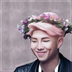 {BTS, Rap Monster, Namjoon, Kim Namjoon, Fanart}