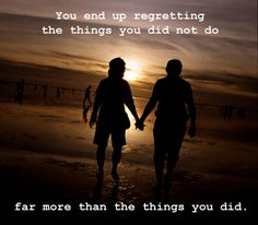 Live so you have no regrets