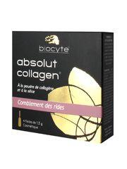 Biocyte Absolut Collagen Comblement des Rides a un effet lissant immédiat et est adapté à tous types de peaux