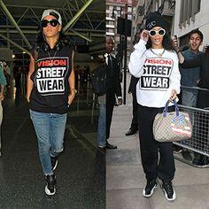 Vision Street Wear Mens Classic Big Logo Tee T-Shirt, White, Size XL
