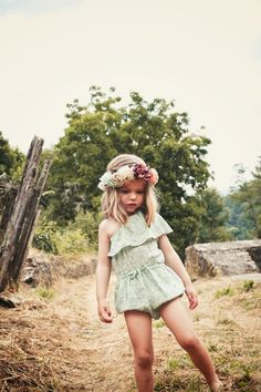 Little flower-girl