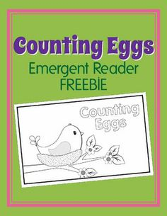 Counting Emergent Reader....cute birds....and it's a FREEBIE!