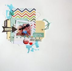 """anma.no - Blog - """"Awesome starts here"""" layout created by Dt Linda. Scrapbooking, Layout, Create, Awesome, Blog, Page Layout, Scrapbook, Be Awesome, Memory Books"""