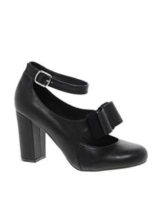 Shellys Kate Mary Jane Bow Shoes
