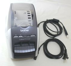 Brother Label Printer Model Label Printer With Cables 4977766654814 Printers, Brother, Label, Store, Ebay, Storage, Sibling, Shop