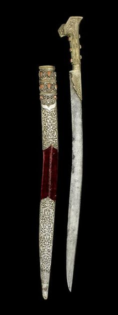 An Ottoman steel Sword (yataghan) Turkey, dated AH 1220/ AD 1805-6.  | © Bonhams 2001-2014