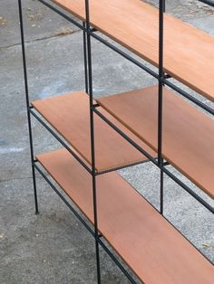 Muriel Coleman Room Divider Shelving for Pacifica 1952 - display rack!