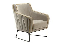 Upholstered fabric armchair CROIX I Ettero Collection by Mambo Unlimited Ideas | design Claudia Melo