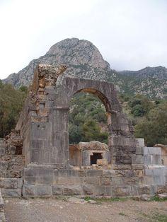 Temple des Eaux, Zaghouan, Tunisia.