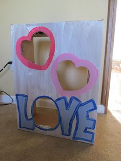 My daughter requested a bean bag toss for her class Valentine's Day party at school this year. I make bean bag toss games for many holid. Valentine Preschool Party, Kinder Valentines, Valentines Games, Valentine Theme, Valentine Crafts For Kids, Valentines Day Party, Valentine Decorations, Easter Crafts, Valentine's Day Party Games