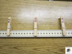 Use a meter stick as a number line!