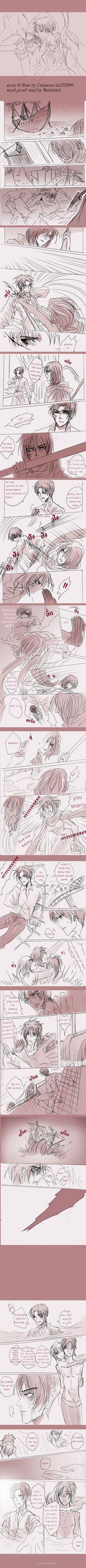 SnK'AU : Pirate!Levi x Mermaid!Eren part13 by illuscarymono.deviantart.com on @DeviantArt