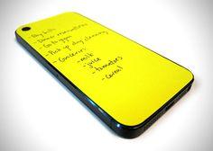 iPhone Paperback Sticky Notes 1 Paperback Sticky : Un Post It pour votre iPhone 5