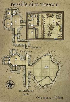 Another tavern over a cavern