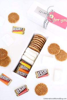 Make smores kit favors, with a twist!