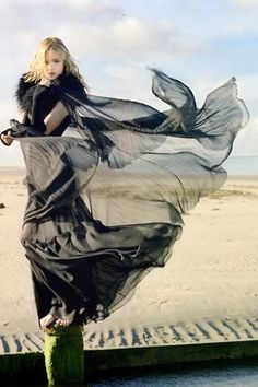 Dress Blowing In The Breeze