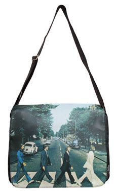 ab04f4980269 Disaster Designs  The Beatles Satchel Bag - Abbey Road (I COULD NOT BE MORE