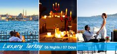#EuropeHoneymoonPackages  #HoneymooninTurkey  #TurkeyTours Book 06 Night / 07 Days #HoneymoonPackages for Turkey 2015 from Delhi India with all inclusive resorts, hotels and cover all romantic destinations, sightseeing and most romantic places in Turkey.