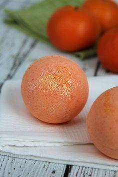 Orange Crush Bath Bombs - DIY recipe
