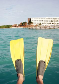 Play the day away snorkeling in the turquoise waters of the Caribbean Ocean. | Hyatt Ziva Cancun