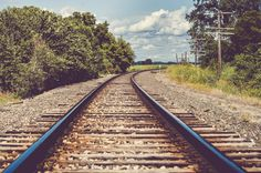 Railroad tracks in Rural Kansas, Fine Art Photography by Pitts Photography