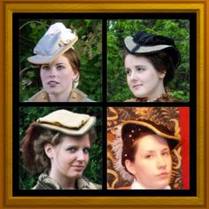 0fd1d05d60f8b CUSTOM Renaissance Tudor Elizabethan Court Puffed Riding hat headpiece in  colors of your choice
