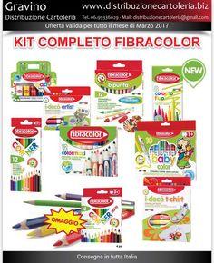 COLORA LA PRIMAVERA CON FIBRACOLOR! In offerta per il mese di Marzo - Consegna in tutta Italia! Per maggiori informazioni clicca qui: http://shop.distribuzionecartoleria.biz/kit-espositori-fibracolor-omaggio-p-9000708.html
