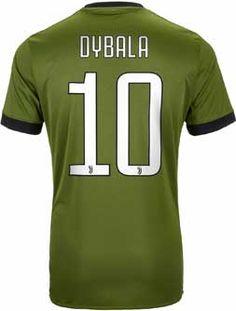 55d943706 adidas Paulo Dybala Juventus 3rd Jersey 2017-18