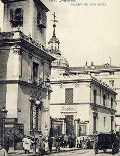 Iglesia de San Ginés año 1914
