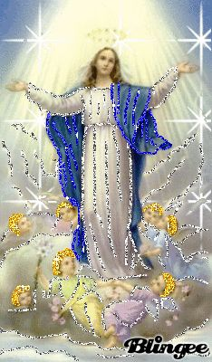 Mother Mary Animated Pictures for Sharing Mother Of Christ, Blessed Mother Mary, Blessed Virgin Mary, Mother And Father, Religious Pictures, Jesus Pictures, Religious Art, Mother Mary Pictures, Verge
