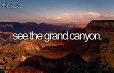 canyon bucket-list