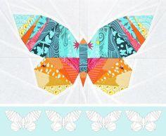 Take Wing Mini Paper Piecing Pattern   Craftsy