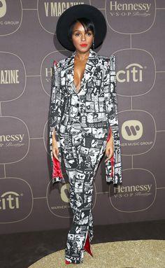 Celebrity Red Carpet Fashion: Last Night's Look - Celebrity Style Week: Celebrity Style Fashion and Latest Trends Bad Fashion, Black Women Fashion, Tomboy Fashion, Suit Fashion, Fashion Outfits, Womens Fashion, Fashion Night, Style Fashion, Celebrity Red Carpet